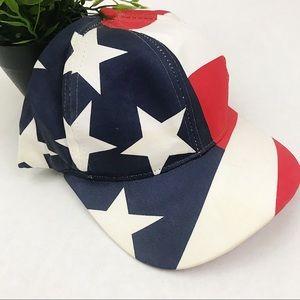 VINTAGE USA flag patriotic dad hat